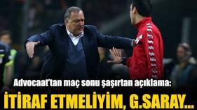 Advocaat: Galatasaray Üstün Taraftı