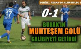 Adana Demirspor-Denizlispor: 0-1