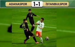 Adanaspor-İstanbulspor: 1-1