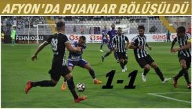 Afyonspor-Altay: 1-1