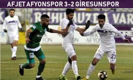 Afyonspor-Giresunspor: 3-2