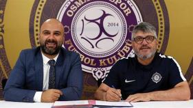 Mustafa Reşit Akçay yeniden Osmanlıspor'da