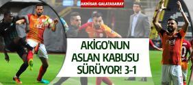 Akhisar-Galatasaray: 1-3