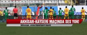 Akhisar-Kayserispor: 0-0