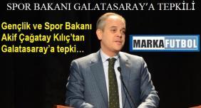 Spor Bakanı Galatasaray'a Tepkili