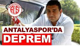 Antalyaspor başkanı istifa etti