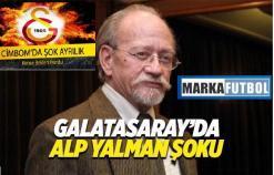 Galatasaray'da istifa depremi