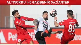 Altınordu-Gazişehir Gaziantep: 1-0