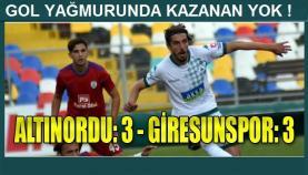 Altınordu-Giresunspor: 3-3