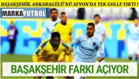 Ankaragücü-Başakşehir: 0-1