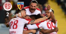 Antalya-Kayseri: 2-1