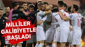 Türkiye'miz galibiyetle başladı