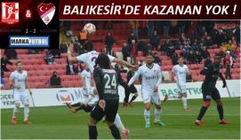 Balıkesir-Elazığ: 1-1