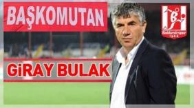 Giray Bulak : Oyuncularımı tebrik ediyorum