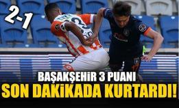 Medipol Başakşehir-Adanaspor: 2-1