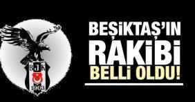 Beşiktaş'ımızın devler ligindeki rakibi belli oldu