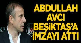 Beşiktaş Abdullah Avcı ile imzaladı
