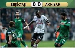 Beşiktaş-Akhisar: 0-0