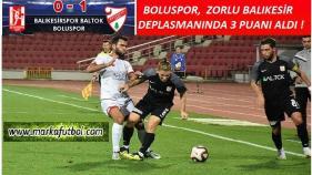 Balıkesirspor-Boluspor: 0-1