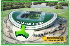 Giresunspor yeni stadına kavuşuyor