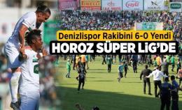 Denizlispor'un süper lig özlemi sona erdi