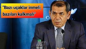 Dursun Özbek: Bazı uçaklar inmeli, bazıları kalkmalı