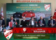 Boluspor'a dev sponspor