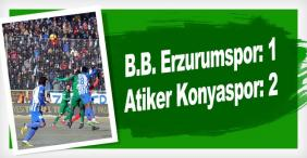Erzurum kötü Konya iyi başladı
