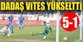 Erzurumspor-Gaziantepspor: 5-1