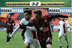 Eskişehirspor-Balıkesirspor: 3-2