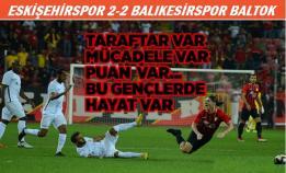 Eskişehir-Balıkesir: 2-2