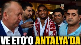 Samuel Eto Antalyaspor dedi