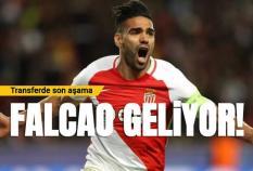 Galatasaray'da transferde son aşama, Falcao geliyor