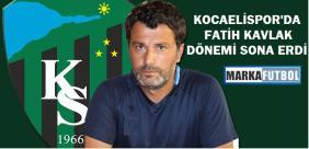 Kocaelispor teknik direktörüyle yollarını ayırdı