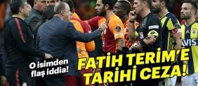 Fatih Terim'e tarihi ceza