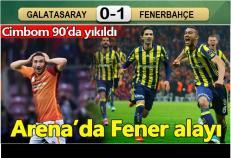 Galatasaray-Fenerbahçe: 0-1