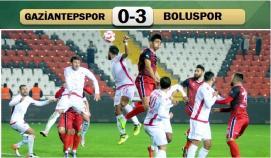Gaziantepspor-Boluspor: 0-3
