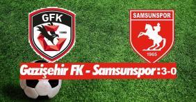 Gazişehir-Samsunspor: 3-0
