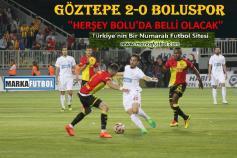 Göztepe-Boluspor: 2-0