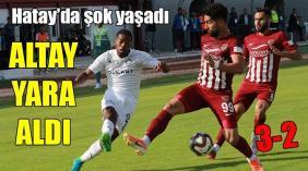 Hatayspor-Altay: 3-2