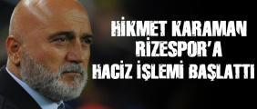 Rizespor Hikmet Karaman'a çok tepkili