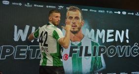 Konyaspor'da Petar Filipovic şoku