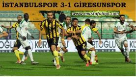 İstanbulspor-Giresunspor: 3-1