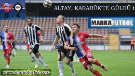 Karabükspor-Altay: 0-4