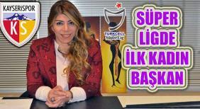 Süper Lig'e kadın eli değdi kadın