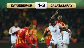Kayseri-Galatasaray: 1-3