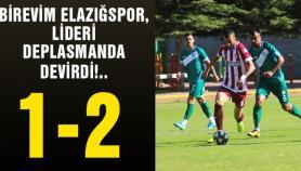 Elazığspor, 32 maçtır yenilmeyen Kırşehirspor'u devirdi !