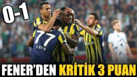Fenerbahçe Konya'da Yara Sardı