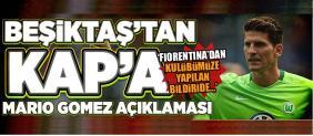 Beşiktaş'tan Mario Açıklaması