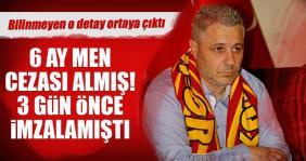 Kayserispor'un yeni hocası bahisten men cezası almış